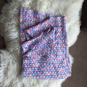 Hand made toddler blanket